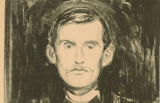 Edvard Munch created myths about himself