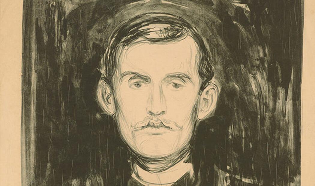 – Munch var så absolutt bevisst å bygge myter rundt seg selv, sier forsker Lars Toft-Eriksen.