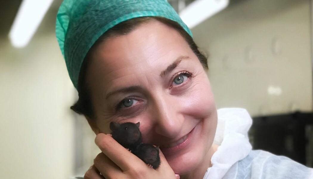 May-Britt Moser gir navn til alle rottene og musene hun forsker på.