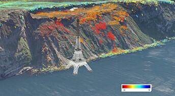 Karttjeneste hjelper med å finne ustabile fjellpartier