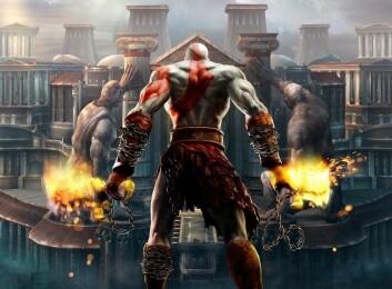 God of War – en reise i gresk mytologi. (Foto: (Skjermdump fra spillet))