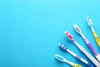 Den aller mest bærekraftige tannbørsten er laget av resirkulert plast, som resirkuleres flere ganger. Det betyr at idealtannbørsten ikke finnes.