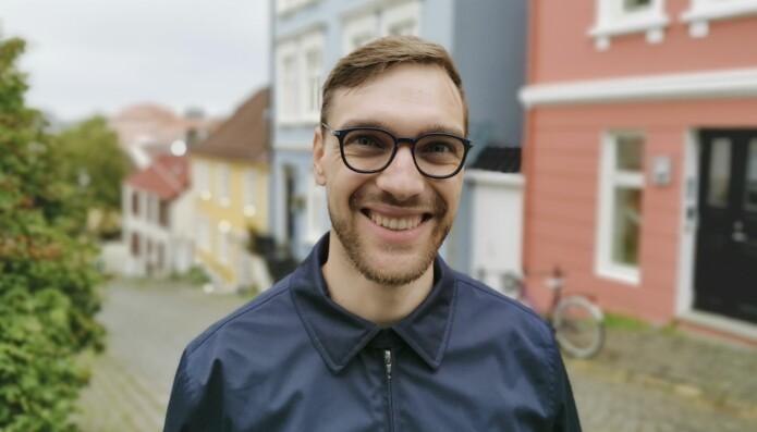 Max Korbmacher studerer ved Universitetet i Bergen og har vært med på en av studiene som premieres.