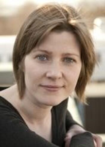 Marika Lüders forsker på sosiale medier ved SINTEF. (Foto: Gry Karin Stimo)