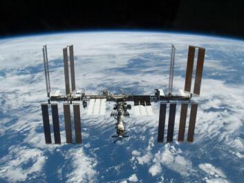 """""""Ifølge Olle Norberg er samarbeidsprosjekter som ISS muligheten for små nasjoner til å skinne i verdensrommet. (Foto: NASA)"""""""