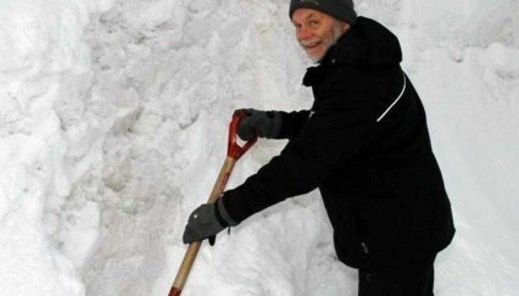 Forsker Tor Lunnan ved Bioforsk Øst Løken. Jon Schärer