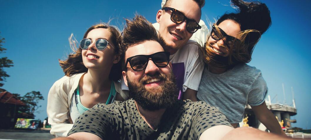 Venner  gir  mer  lykkefølelse  enn  kjernefamilien
