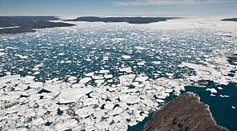 To tiår med forsvinnende is
