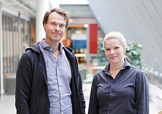 Zachrisson og Haugen i podcasten Læring.