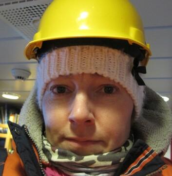Svenske Malin Strand har funnet mellom 70 og 80 arter av slimorm i Sverige. Nå kommer hun til Norge for å lete. (Foto: Privat)