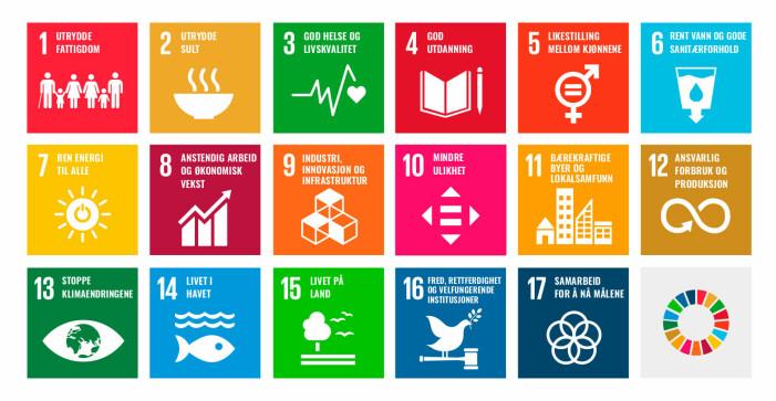 FNs bærekraftsmål er verdens felles arbeidsplan for å utrydde fattigdom, bekjempe ulikhet og stoppe klimaendringene innen 2030.