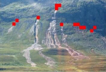 Jordskred kan være farlige om de treffer bygder og hus, men det er vanskelig å forutsi både når de starter og hvor de i så fall tar veien. Forskere ved NGU har likevel klart å finne frem til en modell for å kartlegge jordskredfare. (Foto: NGU)