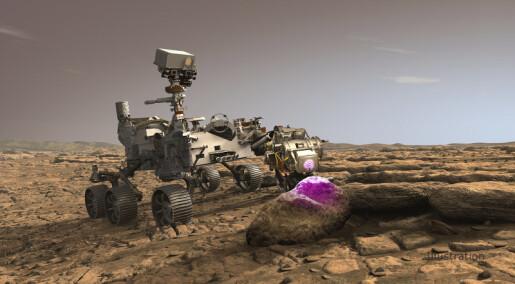 NASAs nye rover skal lete etter fossiler på Mars