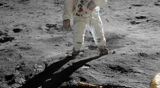 Hvor mye stråling blir astronauter utsatt for på månen?