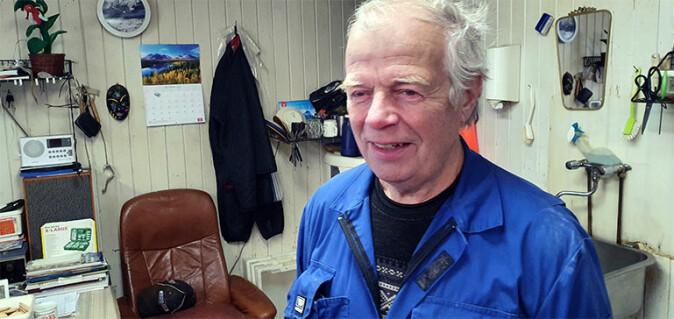 Skipper og fiskar Alfred Karlsen i Honningsvåg løyste gåta.