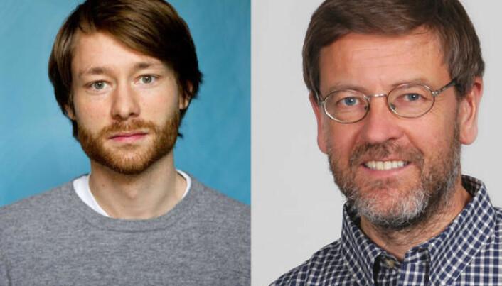 Håvard Mokleiv Nygård and Nils Lid Hjort.