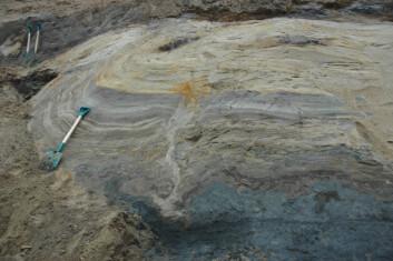 """""""Her kan geologene lese deler av historien til en bredemt innsjø."""""""