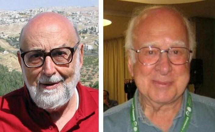 Belgiske Francois Englert og britiske Peter Higgs ble tildelt Nobelprisen i fysikk for 2013. (Foto: Wikimedia commons)