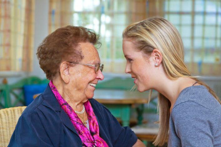 Folk over 40 år identifiserer seg ofte med yngre aldersgrupper enn den de selv er i. (Foto: Colourbox)