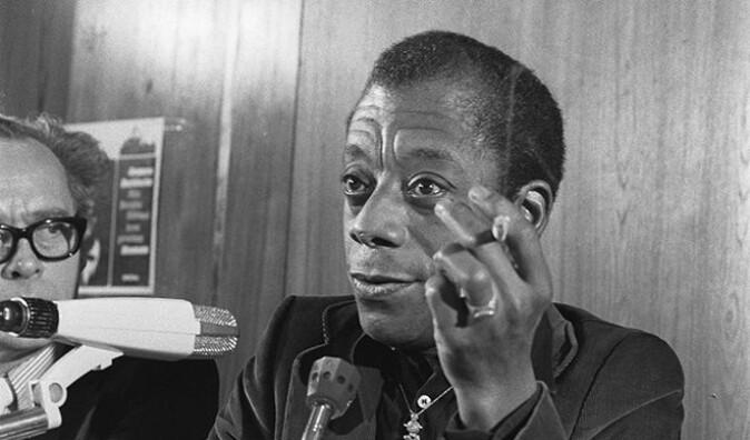James Baldwin var en aktiv taler og debattant, og Scherr tror hans fryktløse holdning fortsatt inspirerer.