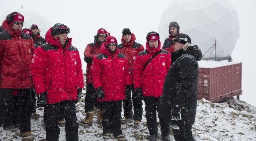 Forskere må ta privatfly til Antarktis