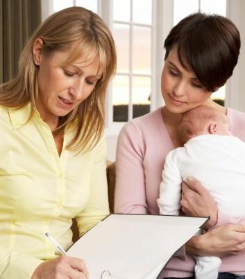 Om helsesøster vet hva slags problemer som typisk følger med personlighetstyper, kan det gi bedre veiledning til nye mødre. (Foto: Colourbox)