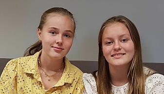 Synne Bredal-Rørvik (til venstre) og Thea Groven-Henriksen (til høyre) har jobbet med denne saken for UNG.forskning.no. Artikkelen ble skrevet av Eldrid Borgan, og Synne og Thea har gått gjennom for å tilpasse den til mindre fagspråk og mer leselig for ungdom.