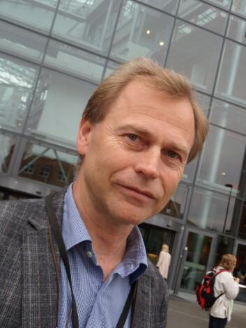 Lars Glasø er professor ved Handelshøyskolen BI. (Foto: Audun Farbrot)