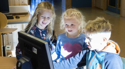 Skoleelever får ikke brukt sine digitale ferdigheter
