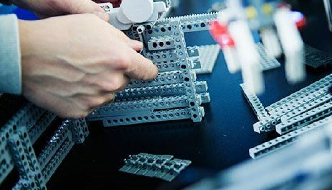 Bruker Lego til å lære om maskiner