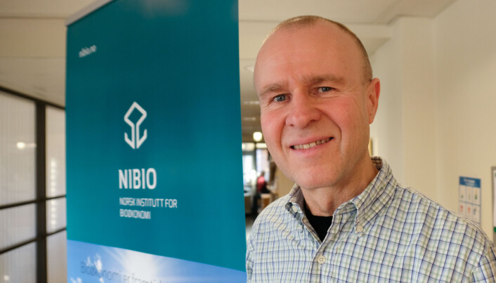 Geir Wæhler Gustavsen, researcher at NIBIO.