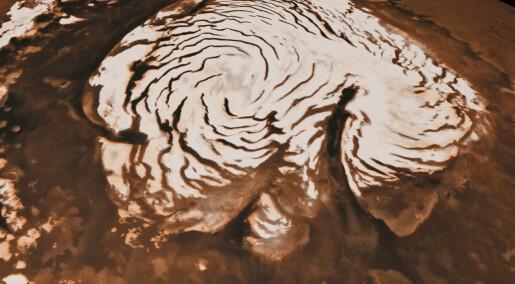 Det finnes sjøer av vann under iskappen på Mars, bekrefter ny studie