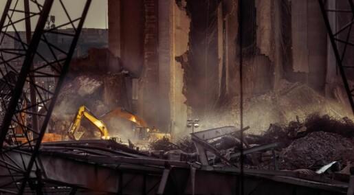 Eksplosjonen på havna i Beirut var en av de største gjennom tidene