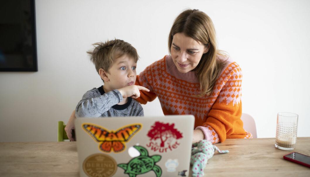 Forskar Marte Blikstad-Balas trur at heimeskulen har gitt føresette eit nytt innblikk i skulekvardagen til barna sine.