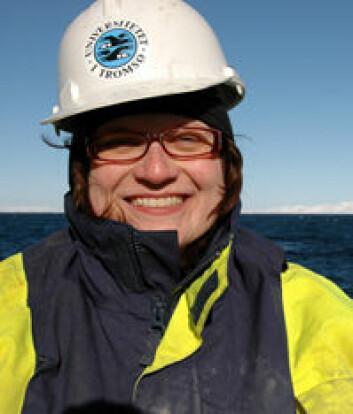 """""""Katrine Husum er maringeolog ved UiT og en av toktlederne under Polarårets SciencePub-satsning."""""""