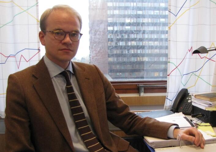Doktorgradsstipendiat Andreas Snildal forsker på schächtningens historie i Norge og Europa. (Foto: Audun Lunga)