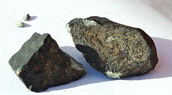 Norske meteoritter er blitt «offisielle»