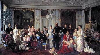 Er alle europeiske kongehus medlemmer av samme familie?