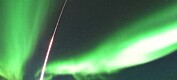 Rakettsuksess i nordlyset