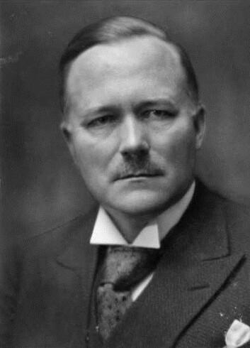 Stortingsrepresentant og senere statsminister Jens Huseid var stor tilhenger av et forbud i 1929 (Foto: Oslo Museum)