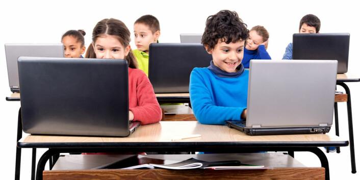 Et bilde sier slett ikke mer enn tusen ord når du skal lese og lære på skjermen. (Foto: Microstock)