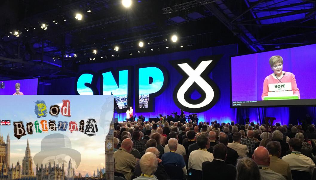 Det skotske nasjonalistpartiet (SNP) bruker brexit for å ta opp spørsmålet om Skottlands uavhengighet på nytt.