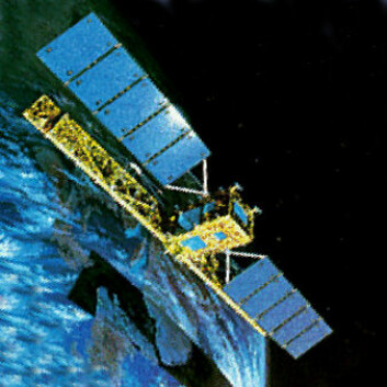 Radarsat-1 (Foto: (Illustrasjon: NASA, Wikimedia Commons))