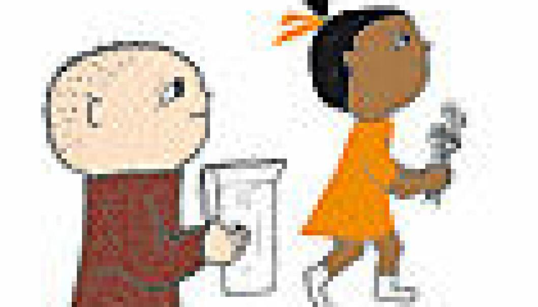 Barn forstår opphav ut fra hudfarge