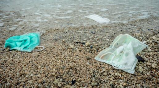 Forskere slår alarm: Munnbind har blitt et søppelproblem