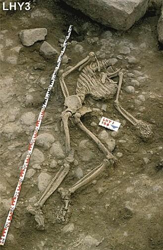 Et av ofrene i massakren. Denne personen ble halshugget
