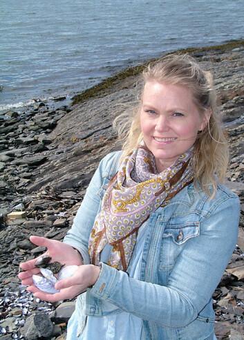 Marianne Molin disputerte nylig med en doktoravhandling om arsen i sjømat, deriblant blåskjell (Foto: Jan Eriksen)