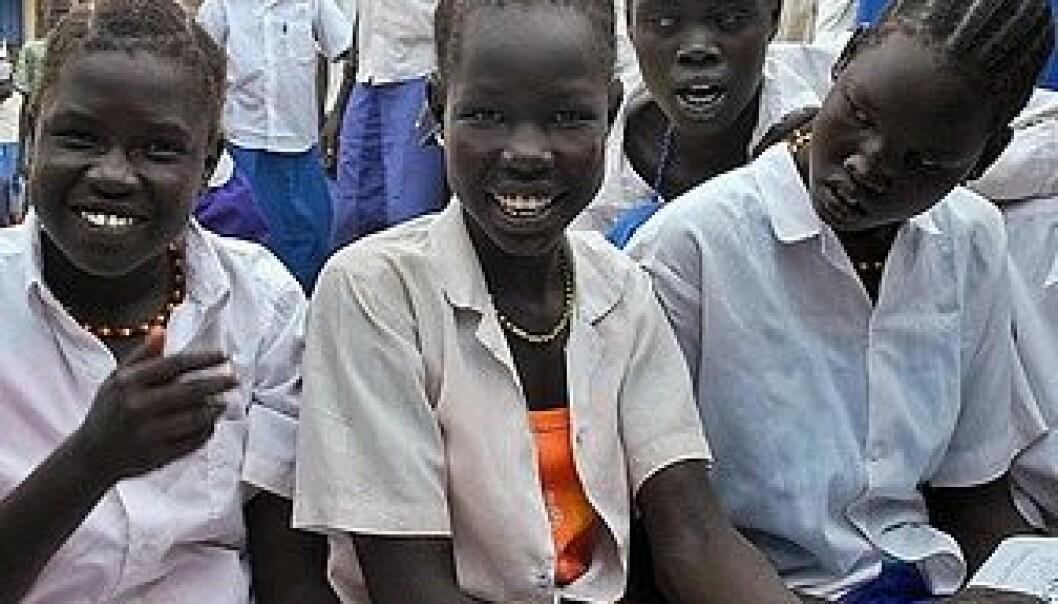 På vei mot målet om å gi alle jenter skolegang