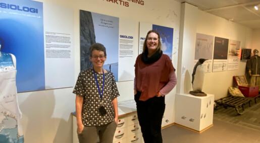 Arrangerer digitalt Antarktis-seminar