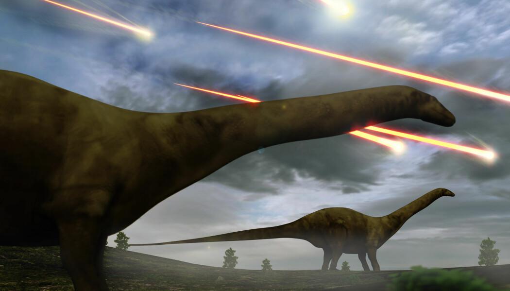 En meteoritt tok knekken på dinosaurene. Men også under denne masseutryddelsen bidro trolig vulkansk aktivitet. Hendelsen sammenfaller med en diger magmaprovins i India som kan ha laget krøll før det smalt.